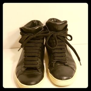 Tom Ford mens leather hightops size 6